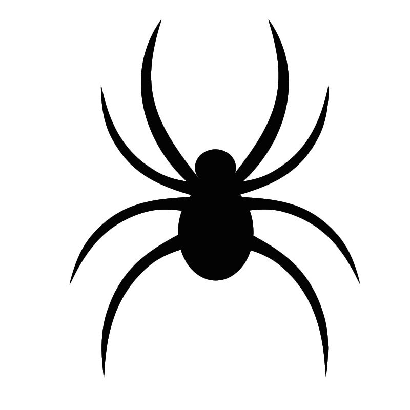 картинки пауков для печати припущенная