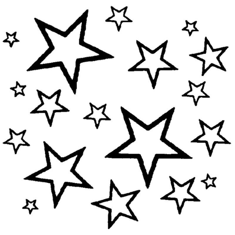 звезды картинки силуэты этого профиля